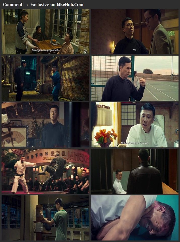 Ip Man 4: The Finale 2019 English 720p BluRay 900MB Download