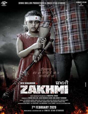 Zakhmi 2020 Full Movie Punjabi 480p HDTV x264 400MB