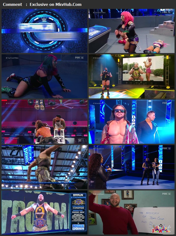WWE Friday Night SmackDown 10 April 2020 720p HDTV x264 700MB Download