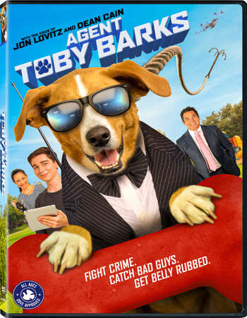 Agent Toby Barks 2020 English 720p WEB-DL 750MB Download