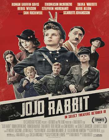 Jojo Rabbit 2019 Dual Audio [Hindi-English] 720p BluRay 1.1GB ESubs