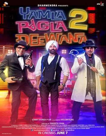 Yamla Pagla Deewana 2 (2013) Hindi 720p BluRay 1.2GB ESubs