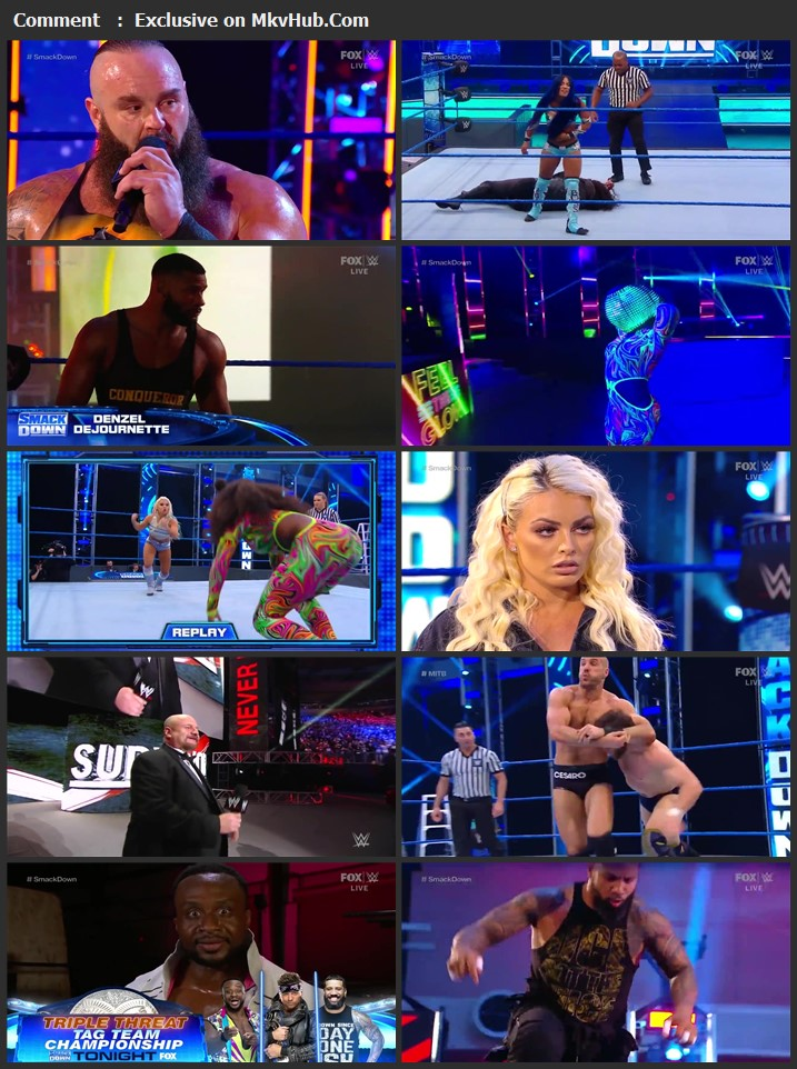 WWE Friday Night SmackDown 17 April 2020 720p HDTV x264 700MB Download