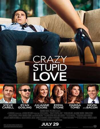 Crazy, Stupid, Love. 2011 Dual Audio [Hindi-English] 720p BluRay 950MB