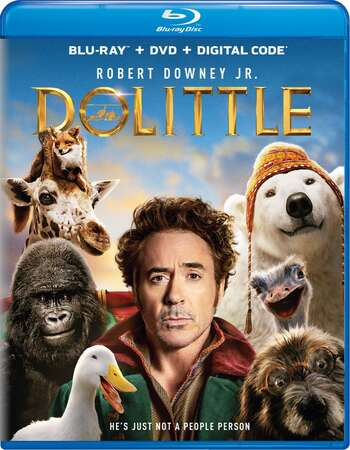 Dolittle (2020) Dual Audio Hindi ORG 480p BluRay x264 300MB ESubs Full Movie Download