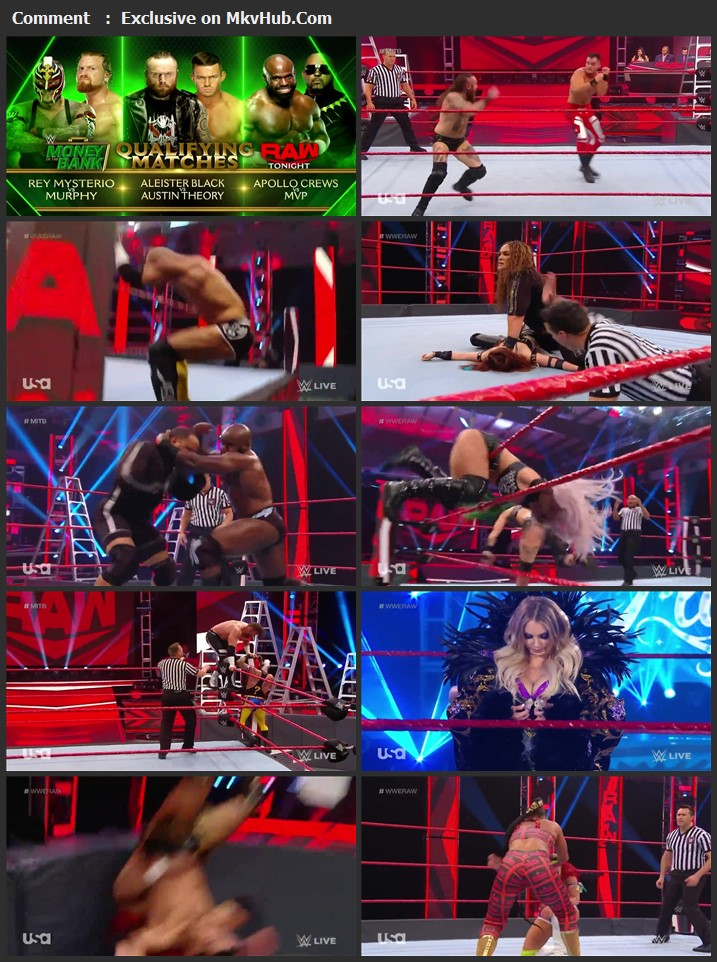 WWE Monday Night RAW 20 April 2020 720p HDTV x264 1GB Download