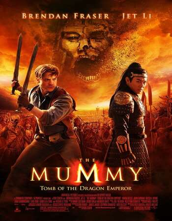 The Mummy: Tomb of the Dragon Emperor 2008 Dual Audio [Hindi-English] 720p BluRay 1.1GB ESubs