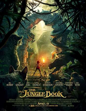 The Jungle Book 2016 Dual Audio [Hindi-English] 720p BluRay 850MB ESubs