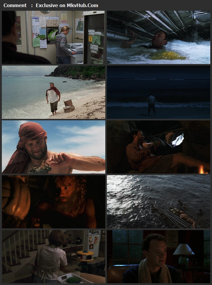 Cast Away 2000 Dual Audio [Hindi-English] 720p BluRay 1.2GB Download