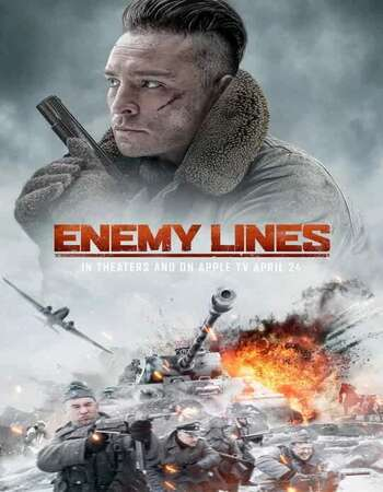 Enemy Lines (2020) English 720p WEB-DL x264 800MB Full Movie Download