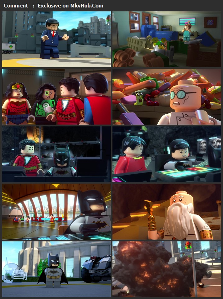 LEGO DC: Shazam - Magic & Monsters 2020 English 720p BluRay 700MB Download