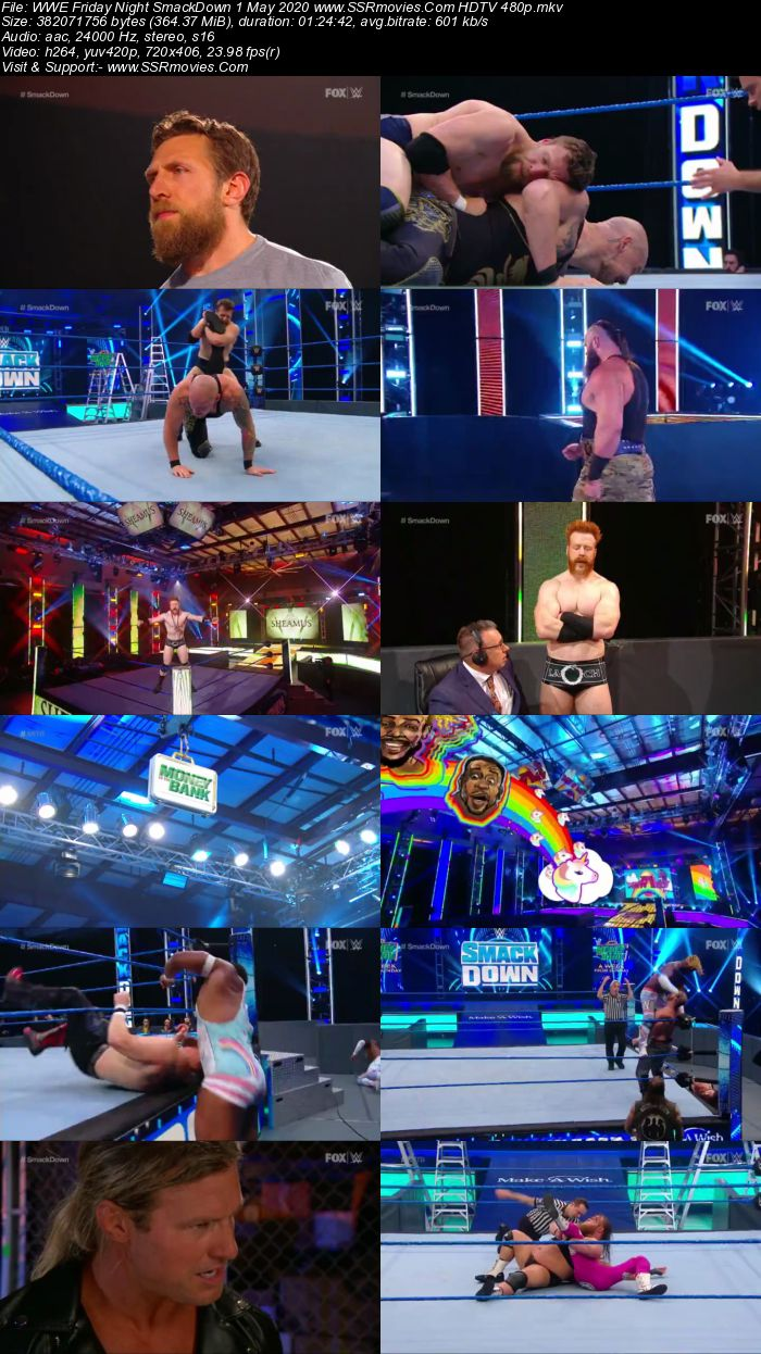 WWE Friday Night SmackDown 1 May 2020 Full Show Download