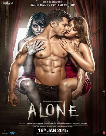 Alone (2015) Hindi 480p WEB-DL x264 350MB Full Movie Download