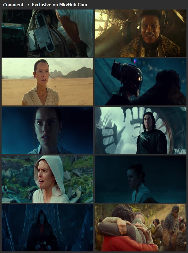 Star Wars The Rise of Skywalker 2019 Dual Audio [Hindi-English] 720p BluRay 1GB ESubs Download
