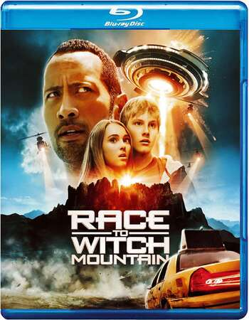 Race to Witch Mountain 2009 Dual Hindi 480p BRRip 300MB