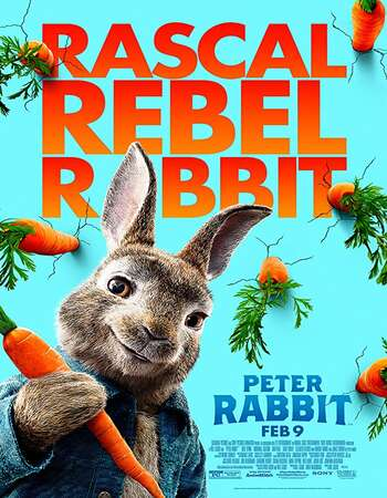 Peter Rabbit 2018 Dual Audio [Hindi-English] 720p BluRay 800MB Download