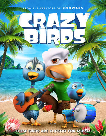 Crazy Birds 2019 English 720p WEB-DL 650MB Download