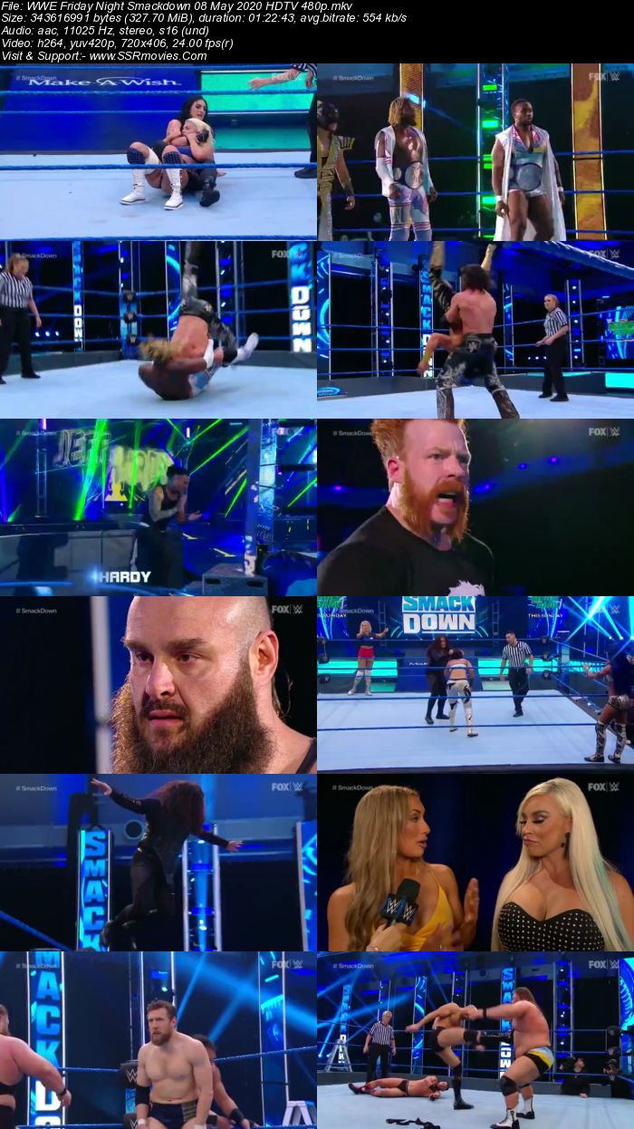 WWE Friday Night SmackDown 8 May 2020 Full Show Download