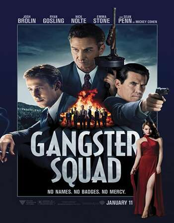 Gangster Squad 2013 Dual Audio [Hindi-English] 720p BluRay 950MB Download
