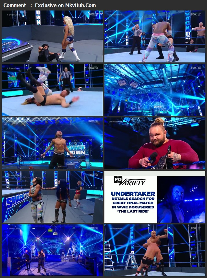WWE Friday Night SmackDown 08 May 2020 720p HDTV x264 700MB Download