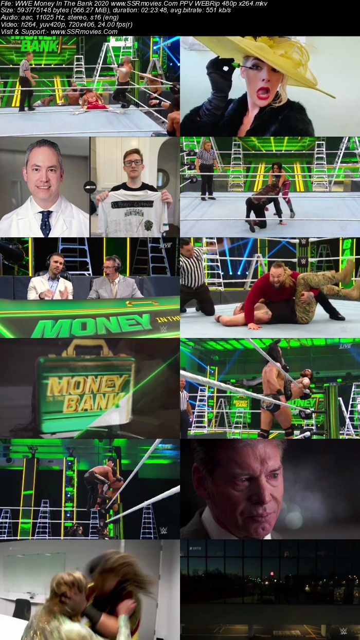 WWE Money in the Bank 2020 PPV 720p 480p WEBRip Full Show Download