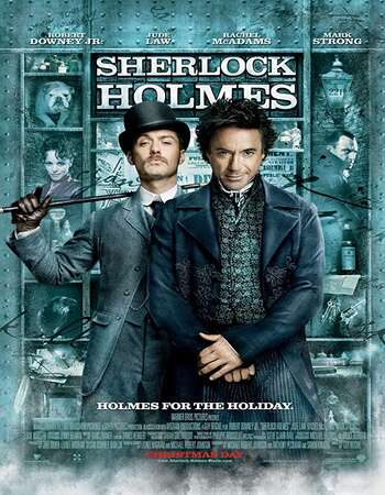Sherlock Holmes 2009 Dual Audio [Hindi-English] 720p BluRay 900MB