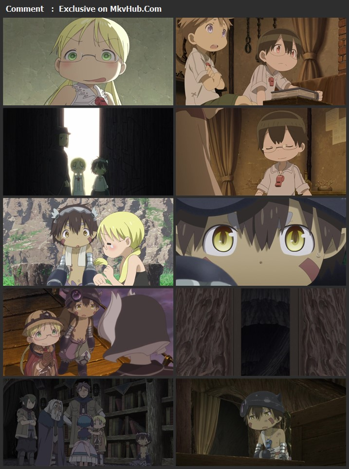 Made in Abyss: Journey's Dawn 2019 Japanese 720p BluRay 1GB Download