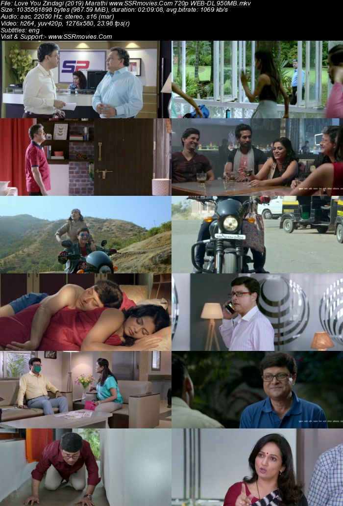 Love you Zindagi (2019) Marathi 480p WEB-DL x264 400MB ESubs Full Movie Download