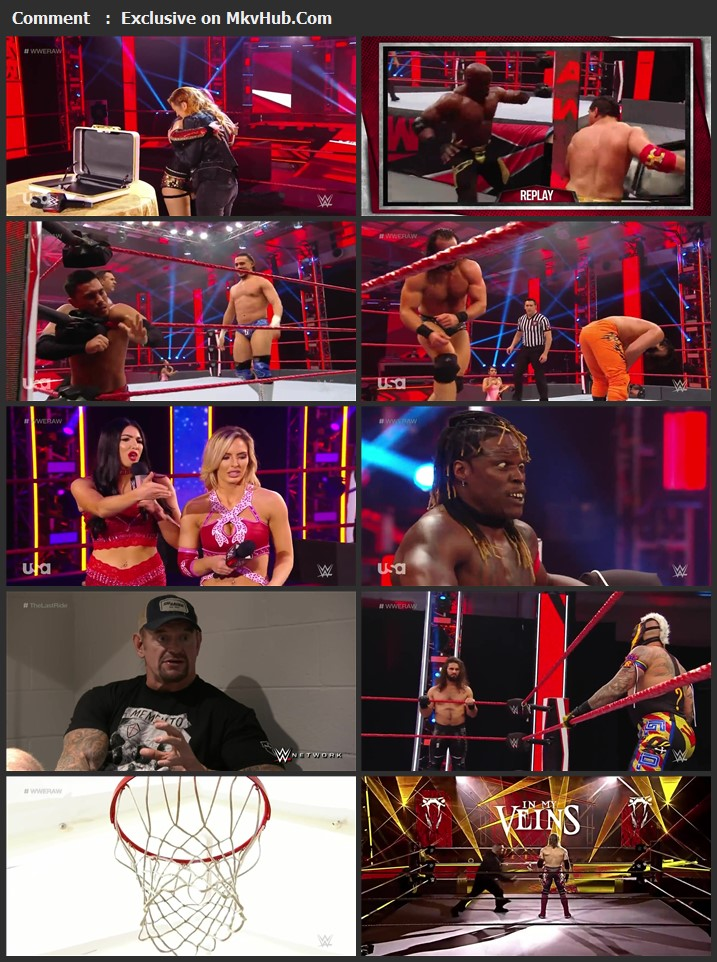 WWE Monday Night RAW 11 May 2020 720p HDTV x264 1GB Download