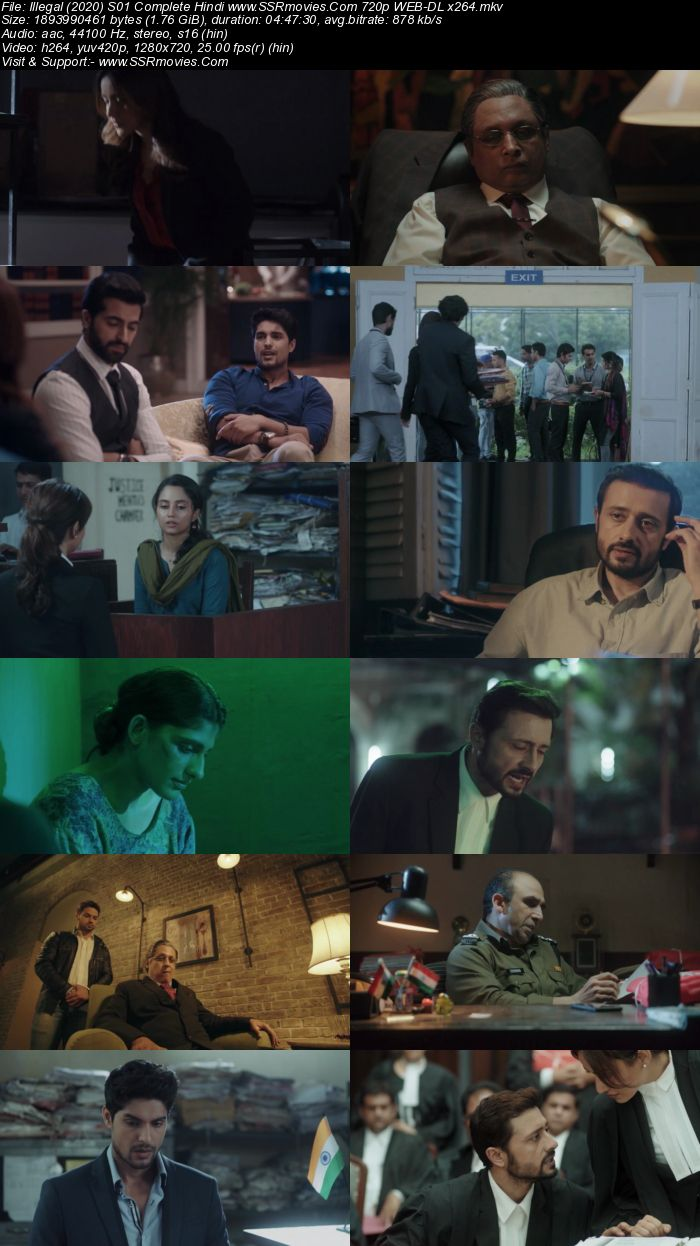 Illegal (2020) S01 Complete Hindi 720p 480p WEB-DL x264 1.8GB Download