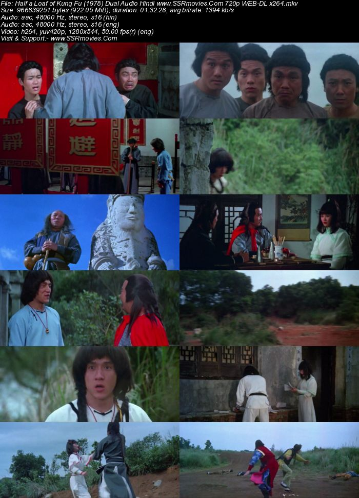 Half a Loaf of Kung Fu (1978) Dual Audio Hindi 480p WEB-DL x264 300MB Full Movie Download
