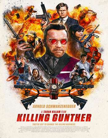 Killing Gunther 2017 Dual Audio [Hindi-English] 720p BluRay 800MB ESubs