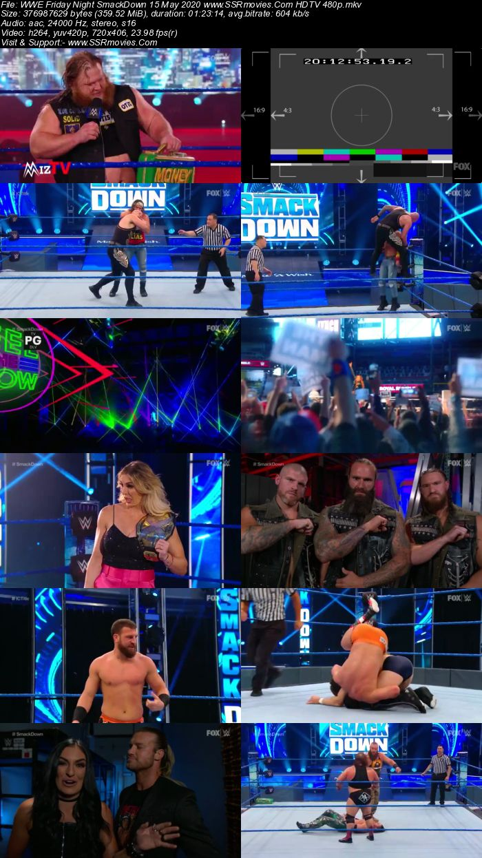 WWE Friday Night SmackDown 15 May 2020 Full Show Download