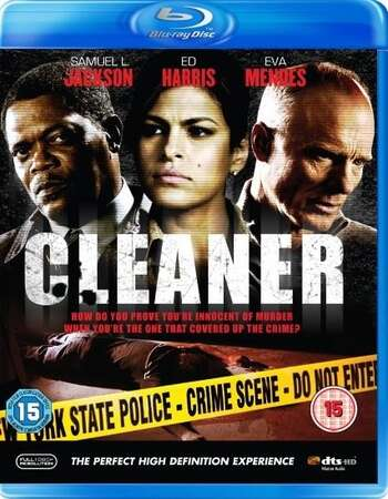 Cleaner (2007) Dual Audio Hindi 480p BluRay x264 300MB ESubs Full Movie Download