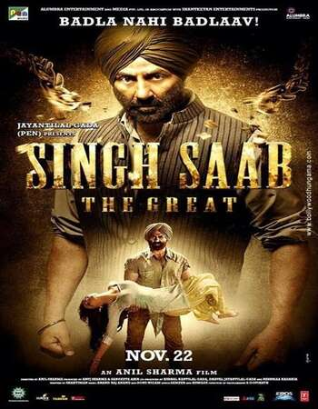 Singh Saab the Great (2013) Hindi 480p WEB-DL x264 450MB Full Movie Download