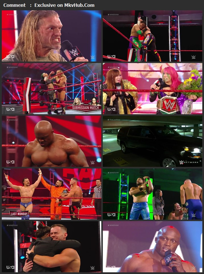 WWE Monday Night RAW 18 May 2020 720p HDTV x264 1GB Download
