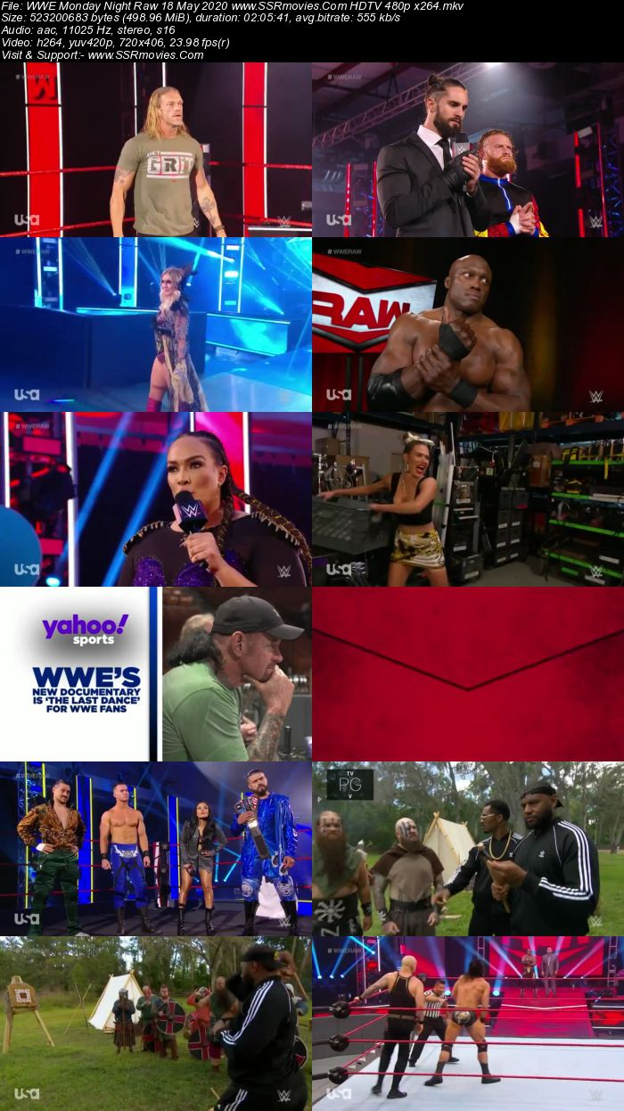 WWE Monday Night Raw 18 May 2020 Full Show Download