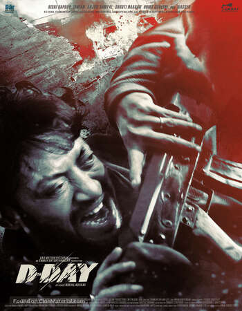 D-Day (2013) Hindi 480p BluRay x264 450MB Full Movie Download