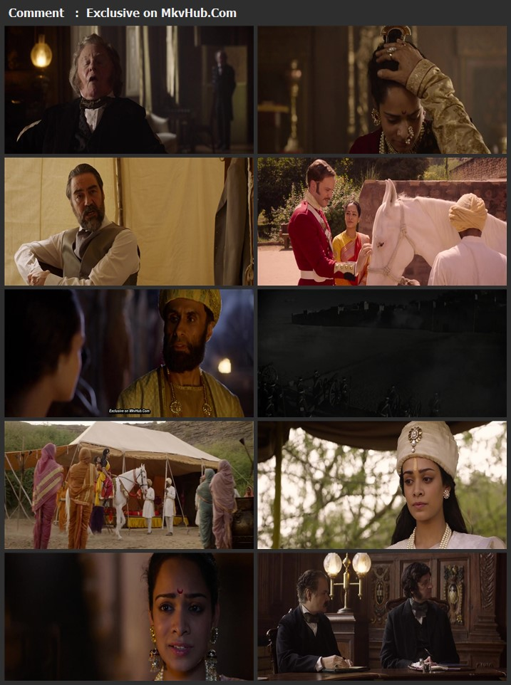 The Warrior Queen of Jhansi 2019 English 720p WEB-DL 900MB Download