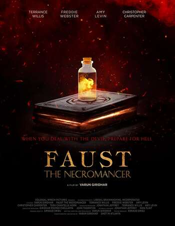 Faust the Necromancer 2020 English 720p WEB-DL 700MB ESubs Download
