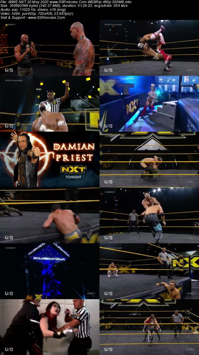 WWE NXT 20 May 2020 HDTV 480p Full Show Download