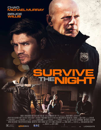 Survive the Night 2020 English 720p WEB-DL 750MB ESubs