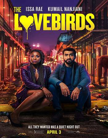 The Lovebirds 2020 English 720p WEB-DL 750MB MSubs