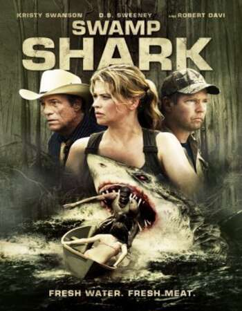 Swamp Shark 2011 English 720p BluRay 800MB ESubs
