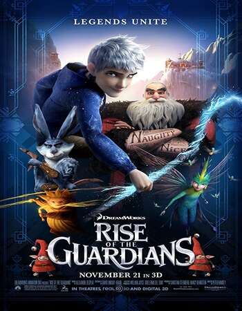 Rise of the Guardians 2012 Dual Audio [Hindi-English] 720p BluRay 1GB ESubs