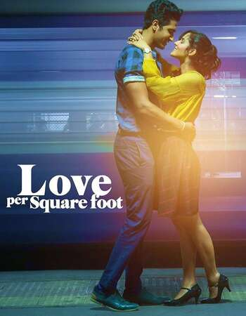 Love Per Square Foot (2018) Hindi 300MB WEB-DL 480p x264 Free Download