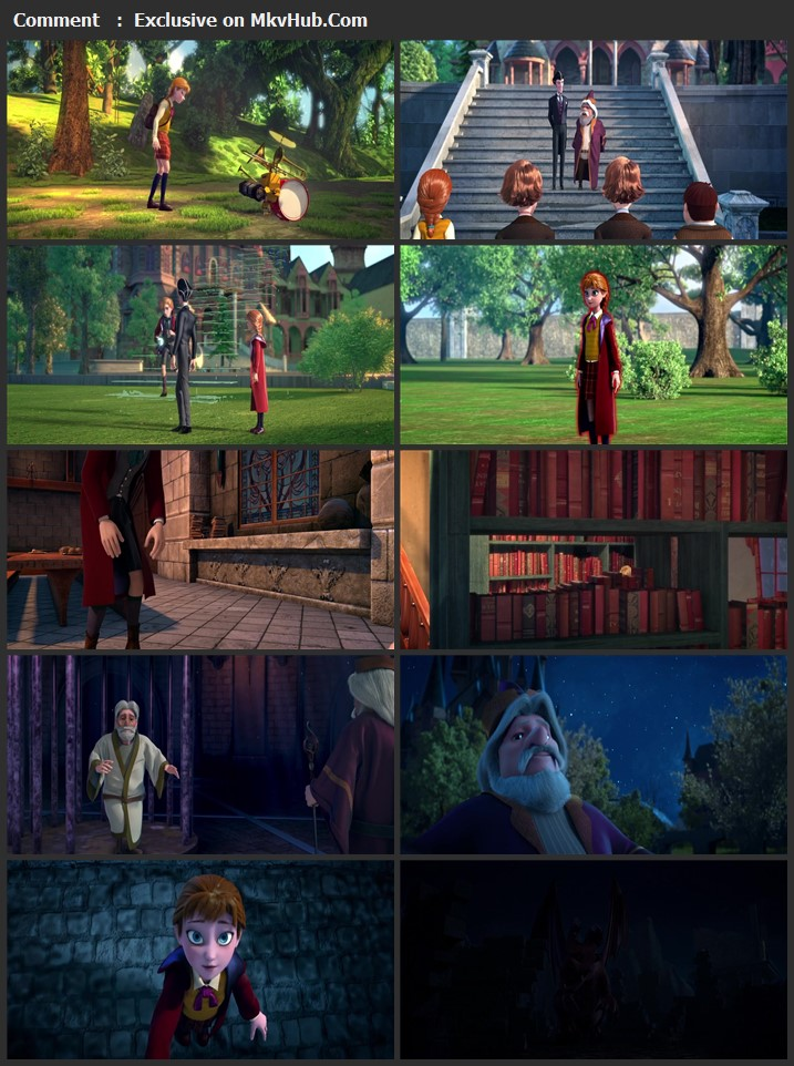 The Academy of Magic 2020 English 720p WEB-DL 750MB Download