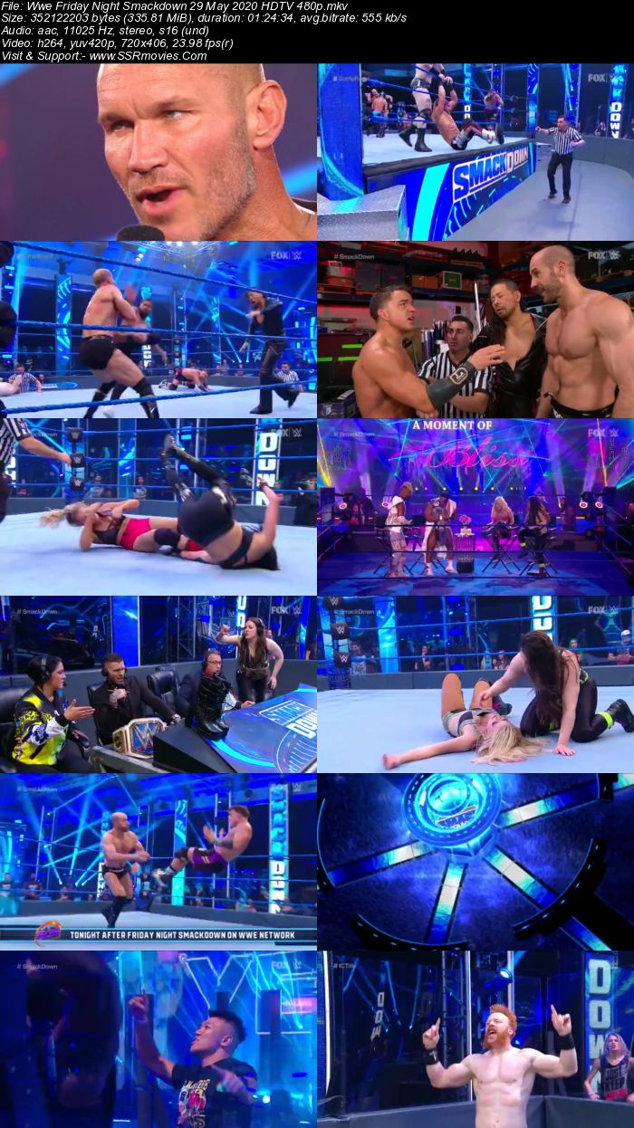 WWE Friday Night SmackDown 29 May 2020 Full Show Download