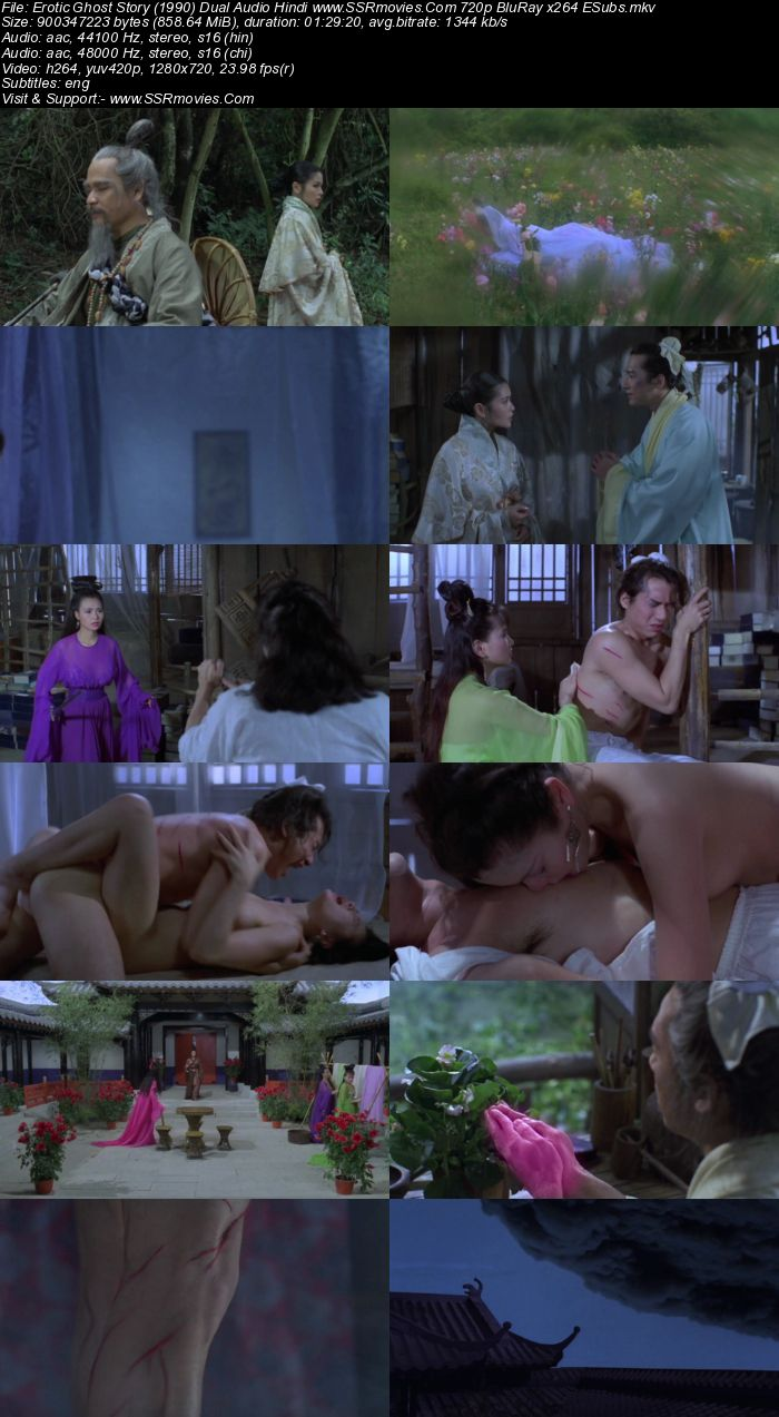 Erotic Ghost Story (1990) Dual Audio Hindi 480p BluRay 300MB ESubs Full Movie Download
