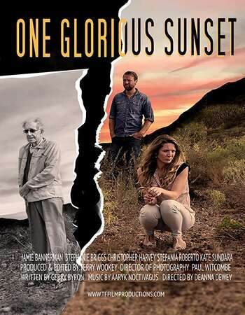 One Glorious Sunset 2016 English 720p WEB-DL 800MB Download